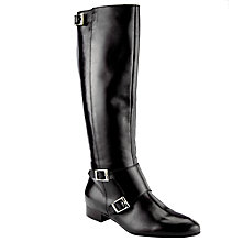 Buy Somerset by Alice Temperley Stawell Long Boot, Black Leather Online at johnlewis.com