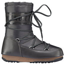 Buy Moon Boot Soft Shade Mid Boots, Grey Online at johnlewis.com