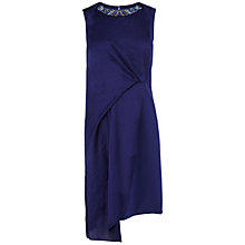 Buy Karen Millen Modern Graphic Dress, Navy Online at johnlewis.com