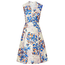 Buy L.K. Bennett Kenton Emilia Print Dress, Multi Online at johnlewis.com
