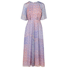 Buy L.K. Bennett Madison Chiffon Print Dress, Multi Online at johnlewis.com