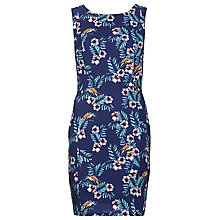 Buy Sugarhill Boutique Tropical Bird Shift Dress, Navy Online at johnlewis.com