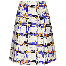 Buy L.K. Bennett Coney Printed Skirt, Multi Online at johnlewis.com