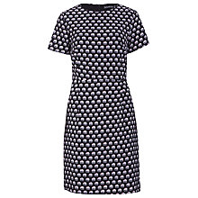 Buy Sugarhill Boutique Ellie Print Shift Dress, Black Online at johnlewis.com
