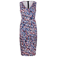 Buy Sugarhill Boutique Floral Pencil Dress, Navy/Pink Online at johnlewis.com
