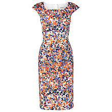 Buy L.K. Bennett Verena Watermark Print Dress, Multi Online at johnlewis.com