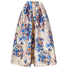 Buy L.K. Bennett Kenton Emilia Print Skirt, Multi Online at johnlewis.com