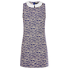 Buy Sugarhill Boutique Rita Jacquard Tunic Dress, Slate Blue Online at johnlewis.com