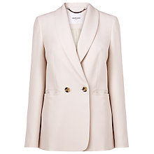Buy L.K. Bennett Elodie Double Breasted Jacket, Pink Online at johnlewis.com