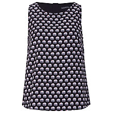 Buy Sugarhill Boutique Ellie Print Top, Black Online at johnlewis.com