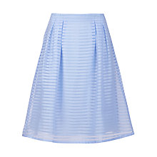 Buy Sugarhill Boutique Stripe Organza Skirt, Windmill Blue Online at johnlewis.com