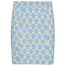 Buy Sugarhill Boutique Geo Print Mini Skirt, Pastel Blue Online at johnlewis.com