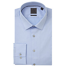 Buy CK Calvin Klein Bari Slim Fit Fine Stripe Shirt, Blue Crystal Online at johnlewis.com