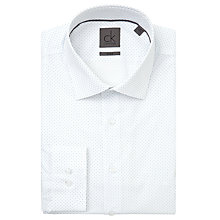 Buy CK Calvin Klein Cannes Fine Dot Shirt, White/Blue Online at johnlewis.com