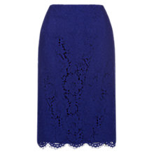 Buy Hobbs Constantine Skirt, Violet Online at johnlewis.com