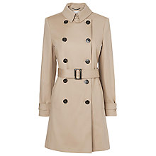 Buy L.K. Bennett Oston Trench Coat, Beige Online at johnlewis.com