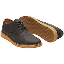 Buy Toms Waxed Twill Brogues, Ash Online at johnlewis.com