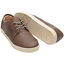 Buy TOMS Paseo Trainers, Brown Online at johnlewis.com