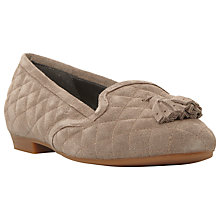 Buy Dune Graze Quilted Suede Loafers Online at johnlewis.com