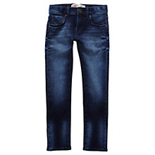 Buy Levi's Boys' 510 Dark Wash Skinny Jeans, Blue Online at johnlewis.com