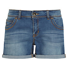 Buy Oasis Authentic Wash Kady Shorts, Denim Online at johnlewis.com