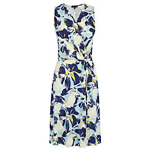 Buy Warehouse Floral Wrap Dress, Multi Online at johnlewis.com