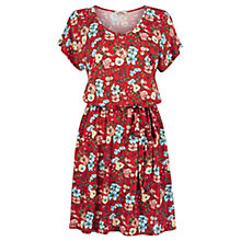 Buy Oasis Botanical Lily Print Skater Dress, Multi Online at johnlewis.com
