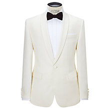 Buy John Lewis Shawl Lapel Tailored Dress Suit Jacket, White Online at johnlewis.com