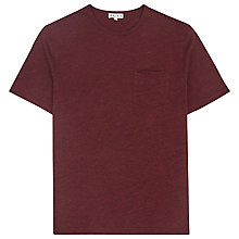 Buy Reiss Habit Flecked Crew Neck T-Shirt Online at johnlewis.com