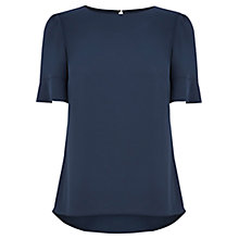 Buy Oasis Milly Fluted T-Shirt Online at johnlewis.com