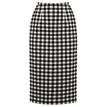 Buy Oasis Gingham Pencil Skirt, Multi Online at johnlewis.com