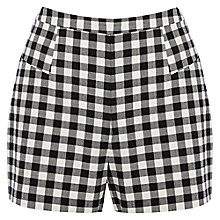 Buy Oasis Gingham Shorts, Multi Online at johnlewis.com