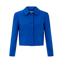 Buy Hobbs Lorna Jacket, Bright Cobalt Online at johnlewis.com