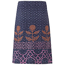 Buy White Stuff Growing Garden Skirt, Night Blue Online at johnlewis.com