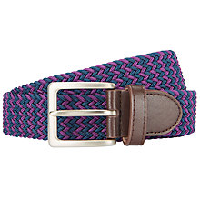Buy John Lewis Plaited Web Belt Online at johnlewis.com