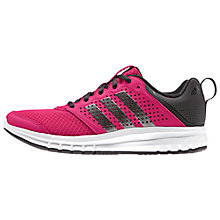 Buy Adidas Madoru Women's Running Shoes, Pink/Grey Online at johnlewis.com