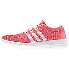Buy Adidas Element Refine Tricot Women's Running Shoes, Red Online at johnlewis.com