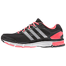 Buy Adidas Nova Stability Women's Running Shoes, Black/Red Online at johnlewis.com