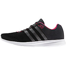 Buy Adidas Lite Runner Women's Running Shoes, Black Online at johnlewis.com