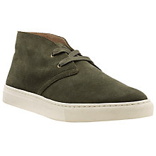 Buy Polo Ralph Lauren Joplin Suede Trainers, Earth Online at johnlewis.com