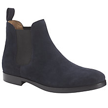 Buy Polo Ralph Lauren Dillian Suede Boots, Dark Navy Online at johnlewis.com