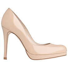 Buy L.K. Bennett Sledge Patent Leather Platform Court Shoes Online at johnlewis.com