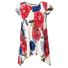 Buy Phase Eight Electra Print Top, Multi Online at johnlewis.com