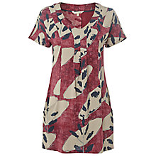 Buy White Stuff Nectarine Tunic, Muted Cranberry Online at johnlewis.com