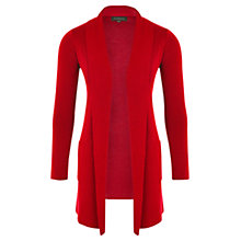 Buy Viyella Petite Merino Cardigan, Cherry Online at johnlewis.com