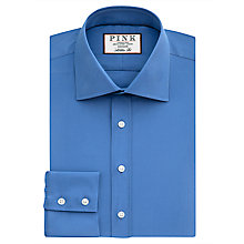 Buy Thomas Pink Crossland Plain Athletic Fit Shirt Online at johnlewis.com