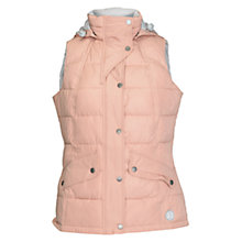 Buy Barbour Gilet, Nude/Silver Ice Online at johnlewis.com
