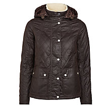Buy Barbour Bartlett Quilted Wax Jacket Online at johnlewis.com