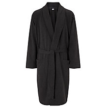Buy Calvin Klein Soft Sleep Robe, Grey Online at johnlewis.com