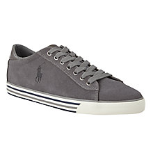 Buy Polo Ralph Lauren Harvey Leather Trainers Online at johnlewis.com